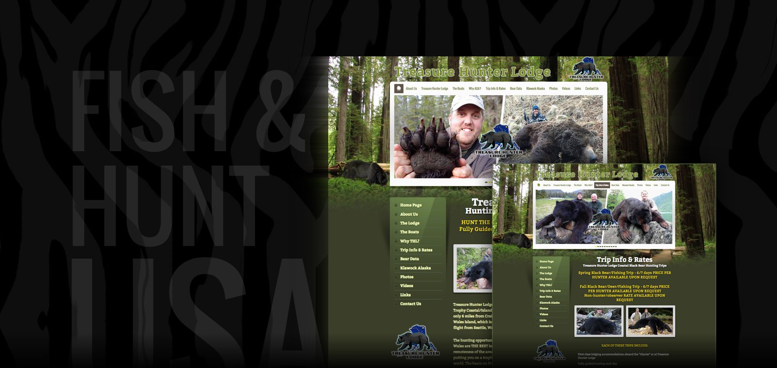 Outdoors Website Design