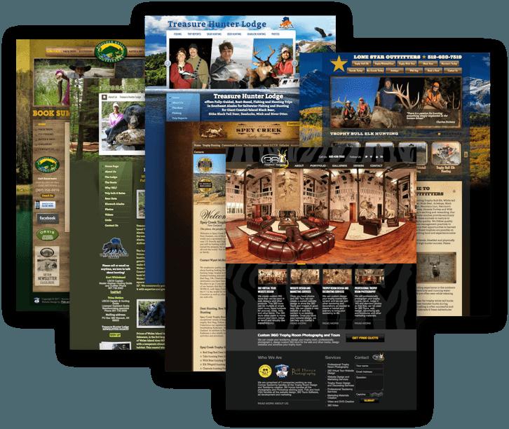 Adventure Outdoor Website Design