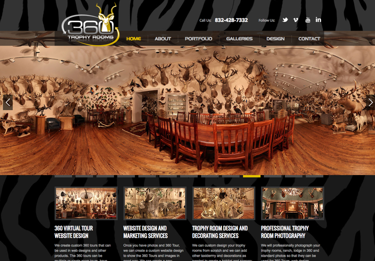 360 Trophy Room Tours