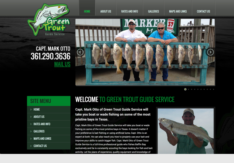 Green Trout Guide Service