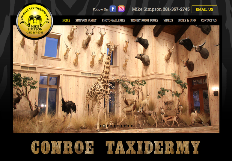 Conroe Taxidermy