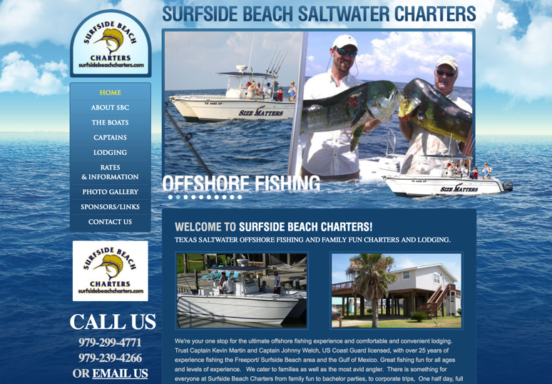 Surfside Beach Charters